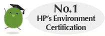 No.1 HP's Environment Certification
